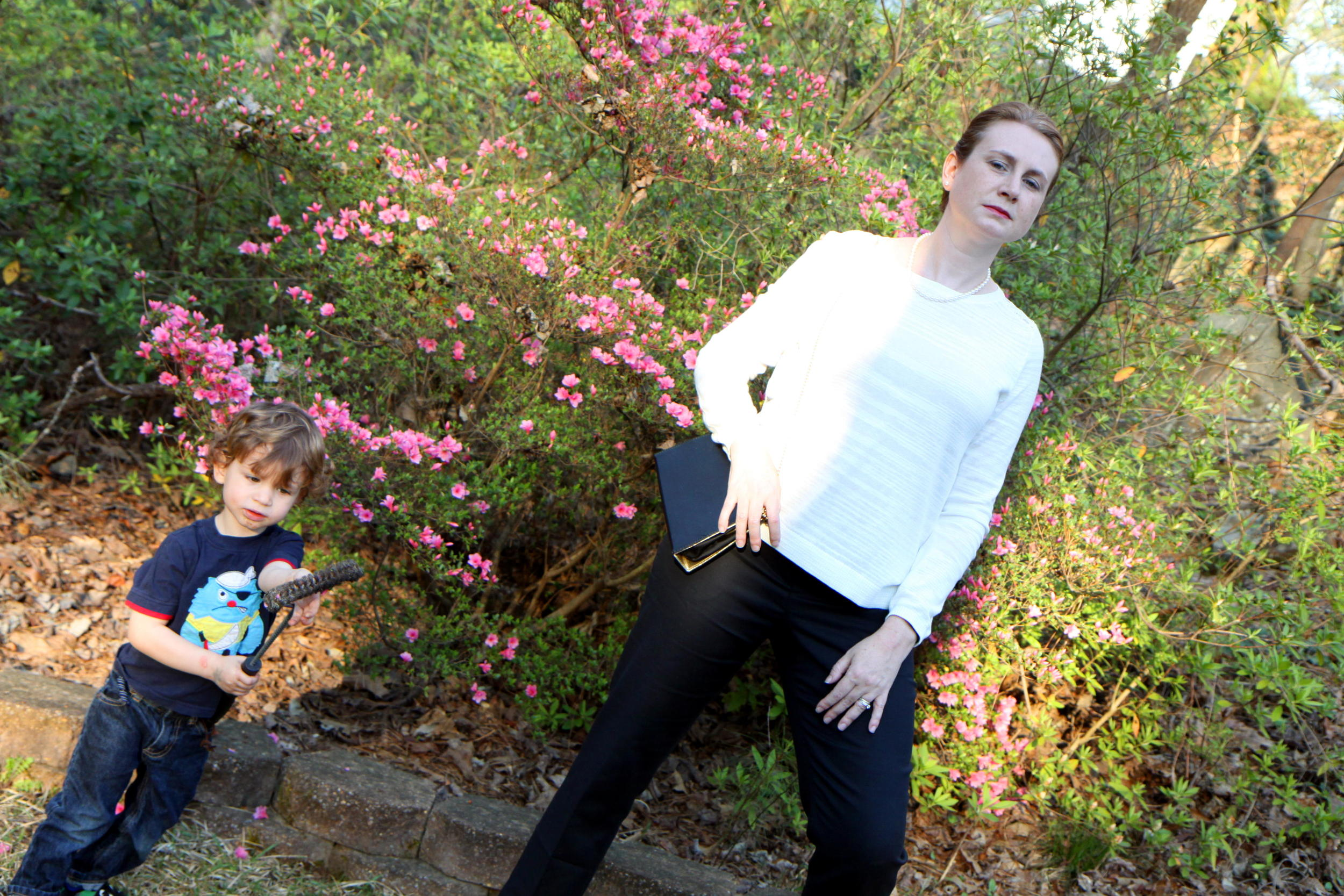 An outtake for your pleasure. I think my kid may have been modeling too!