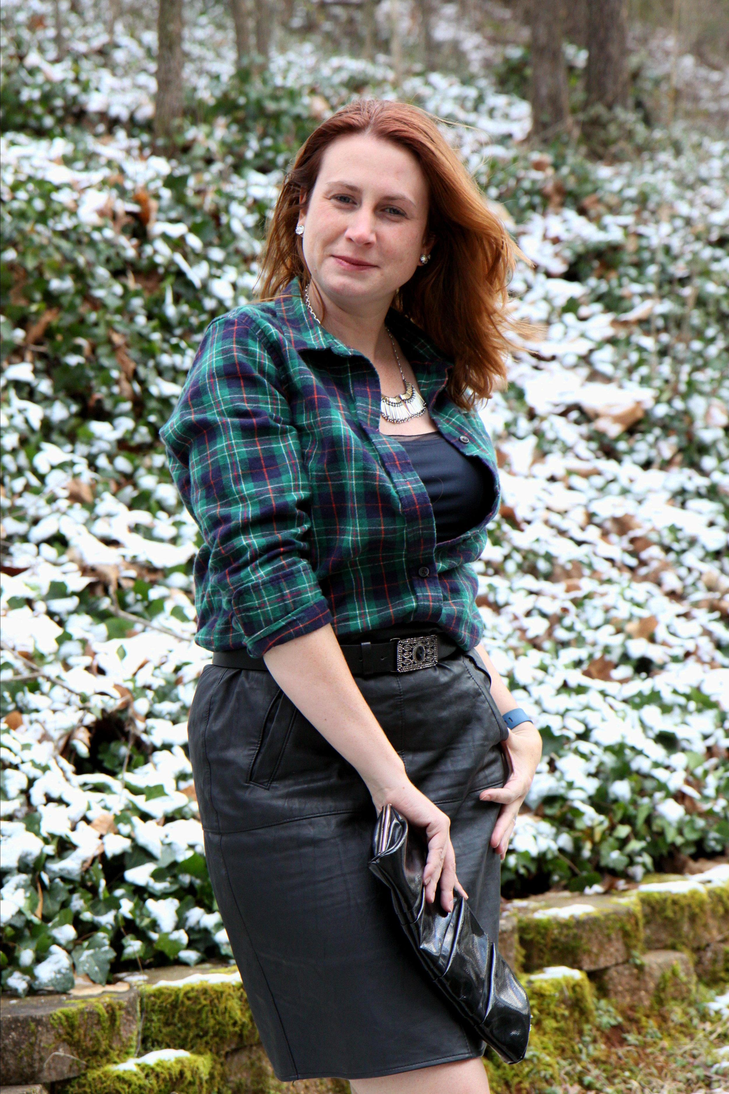 1.  Plaid POW: Date Night Flannel Heat