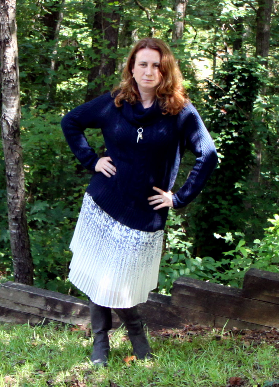 2.  Pleated Star POW: Cozy Cabled Rocky Coast Saturday