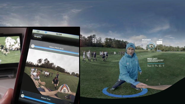 O2 has used Oculus Rift, MannCG and Yellowbird to create a fully immersive, 360-degree sports experience that lets fans train with the Six Nation England rugby team.