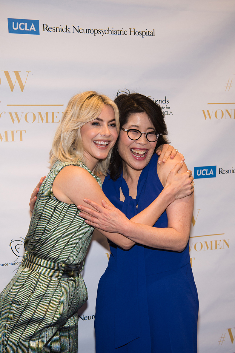 Wendy and Julaianne Hough at the Women's Summit!