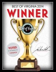 Virginia Living Magazine's 'Best of Virginia' winner since 2012.