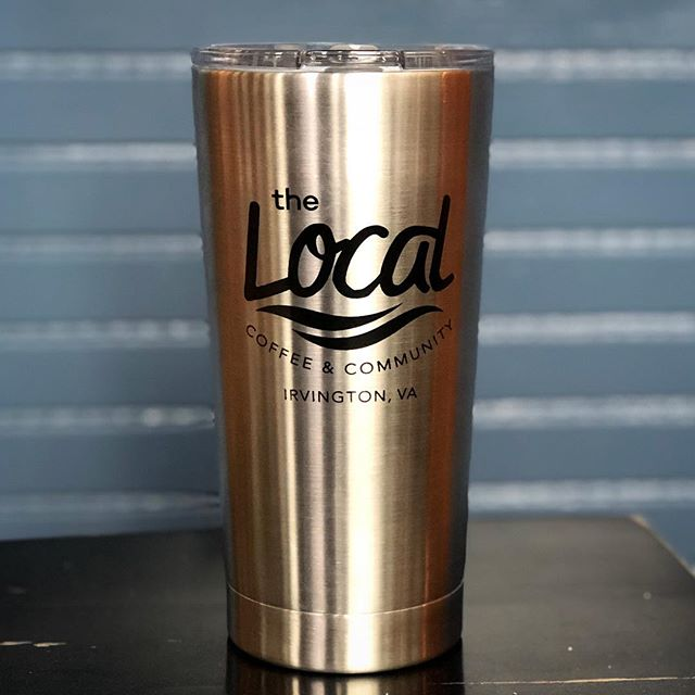 Show 'em where YOU'RE a Local! 👊⁣ ⁣ 20 oz. stainless steel logo tumblers now available for sale.