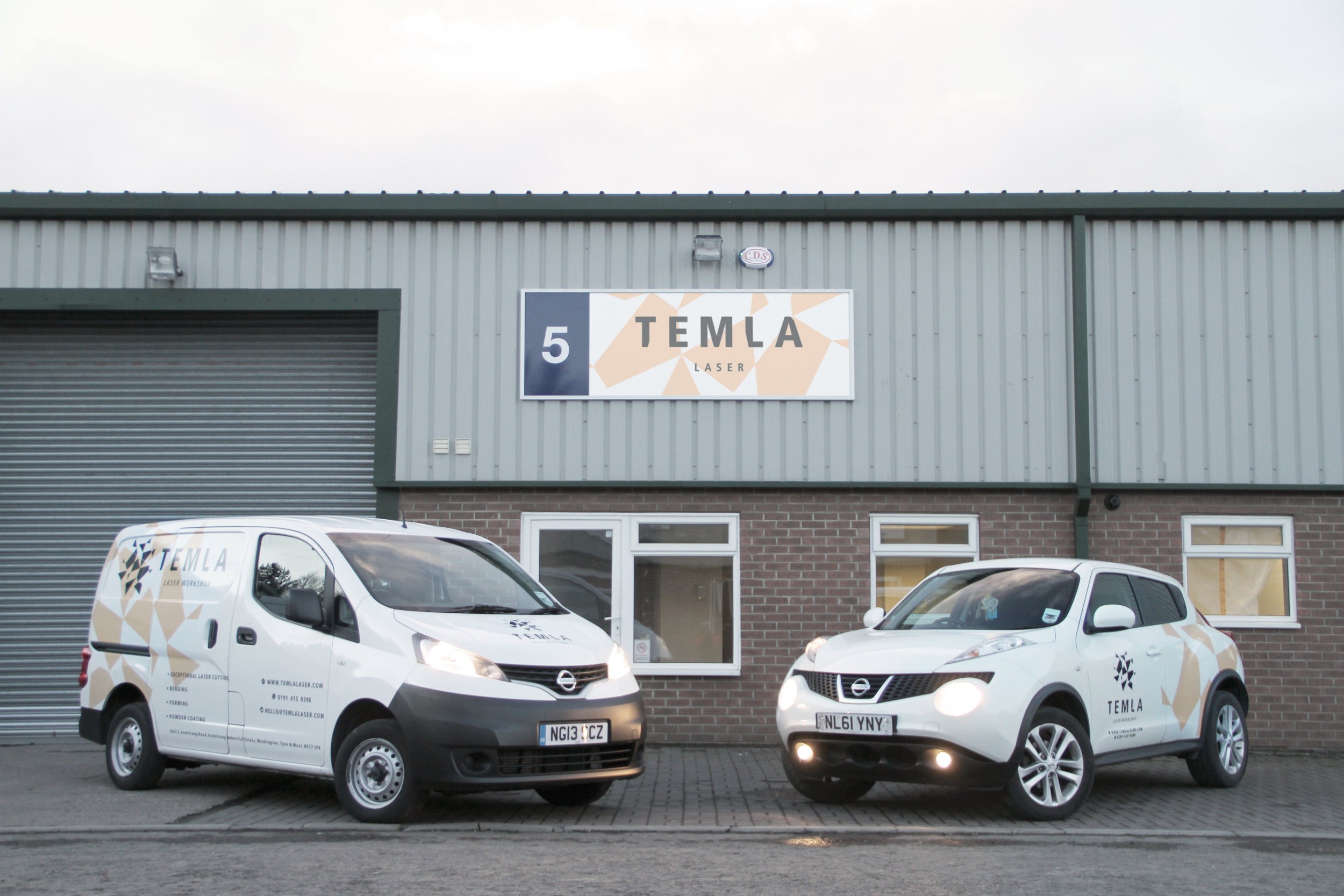 Temla Laser Cutting North East