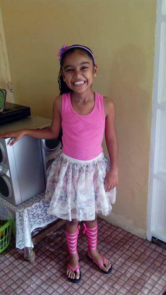 Allisha before illness