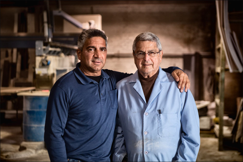 Joseph guido jr. and joseph guido sr., founder
