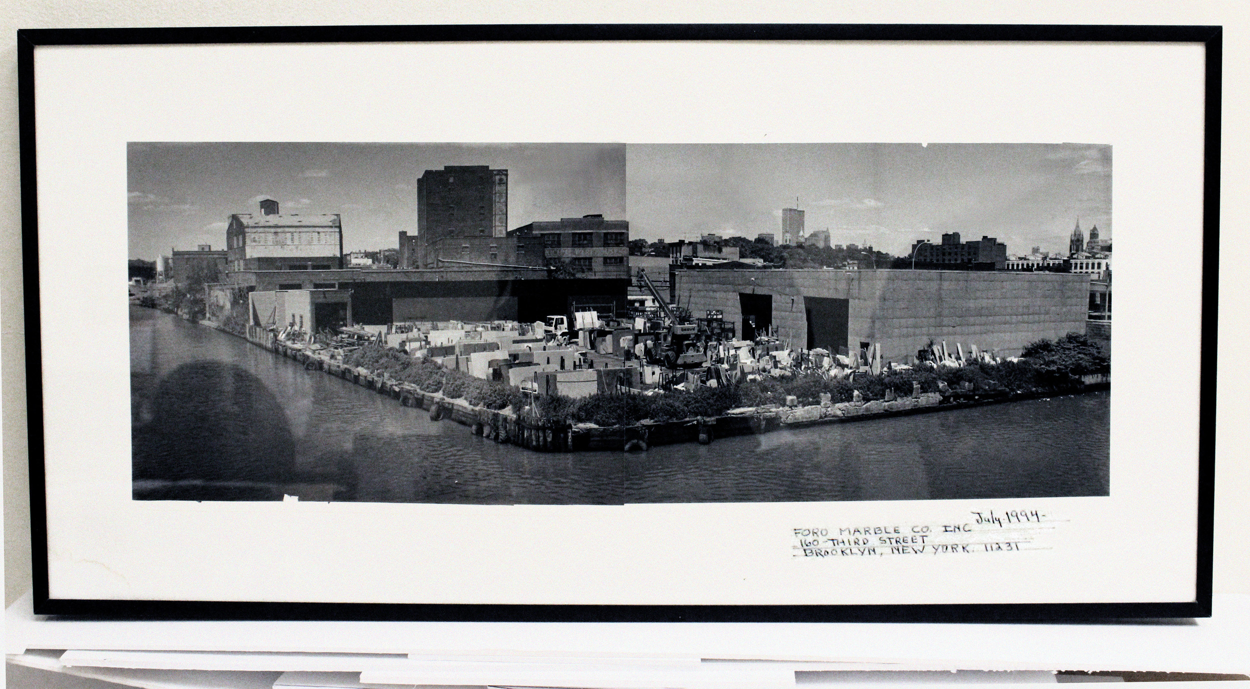 Original foro Marble location. - gowanus canal, brooklyn nyc, circa 1994