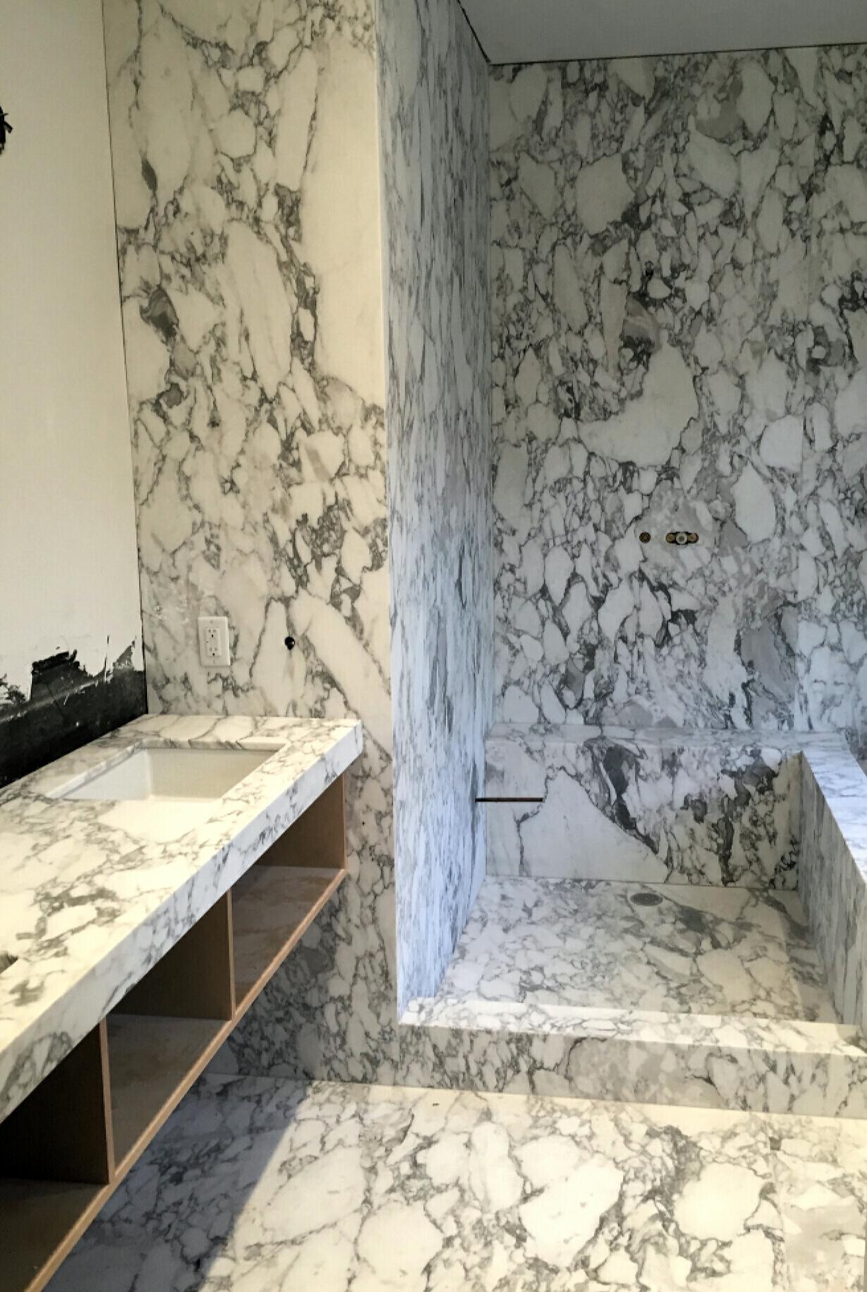 Aberscato Vagil stone bathroom