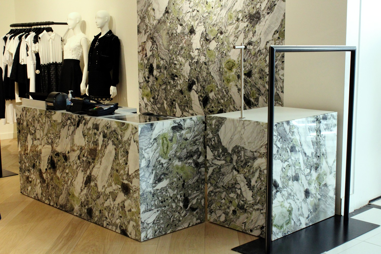 Bloomingdales , New York - counters & Wall