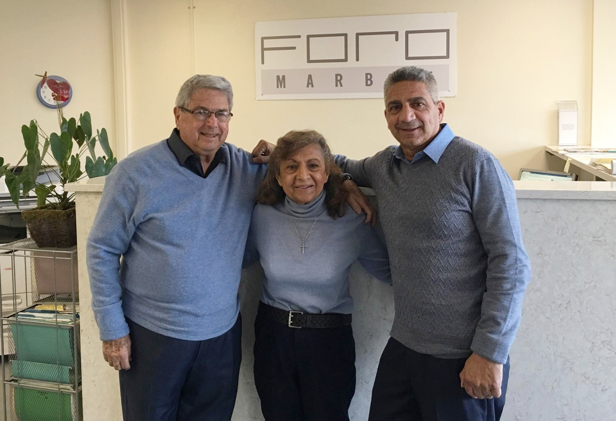 Joe Sr. , Joan & Joe Jr.