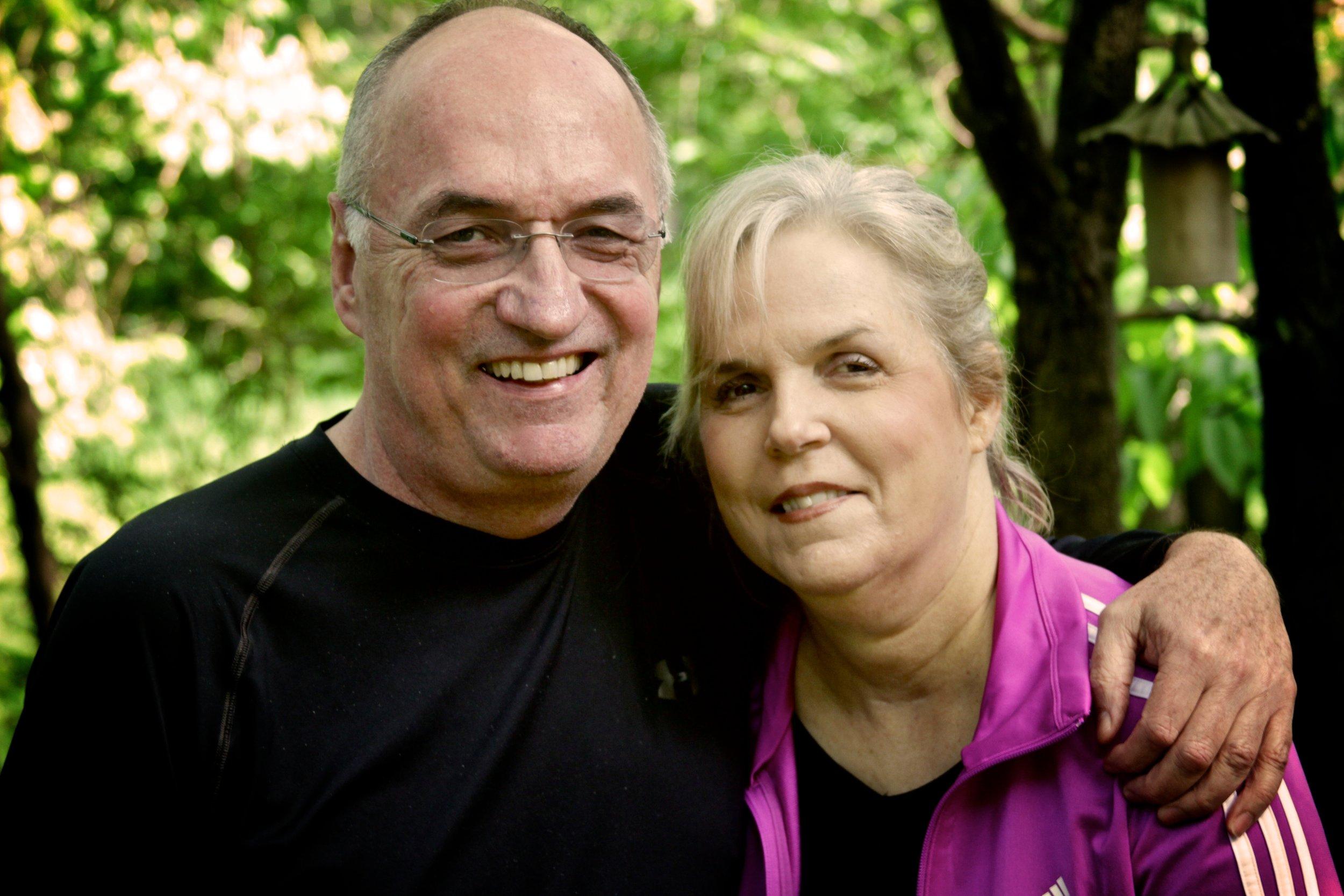 Carol Wall & Dick Wall in 2012 - Photo Credit: Phil Wall
