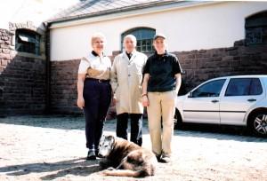 Michelle with Herr Egon von Neindorff
