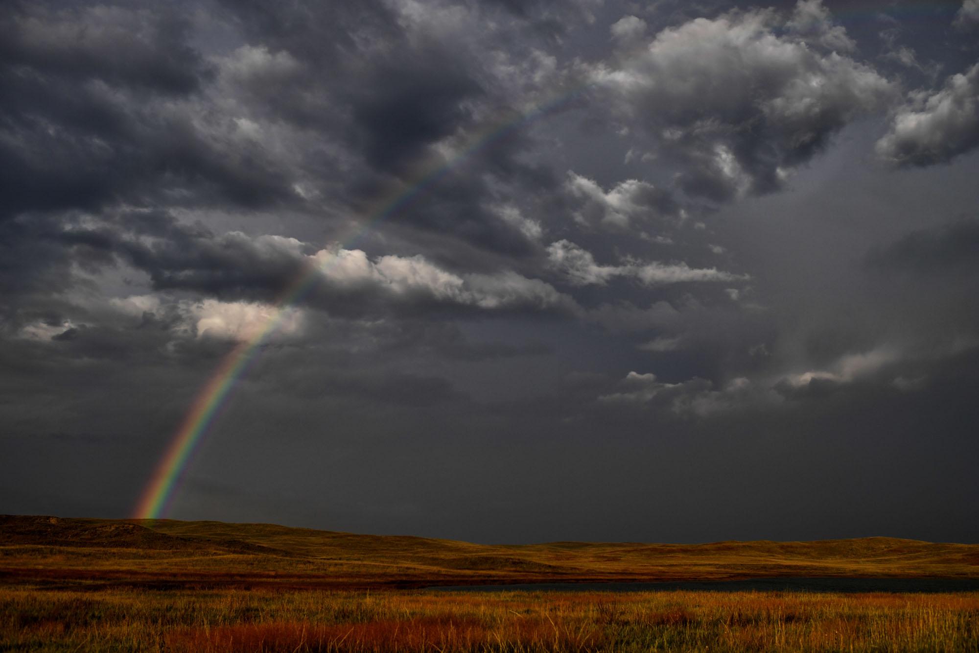 Rainbow. Sheridan County, NE.