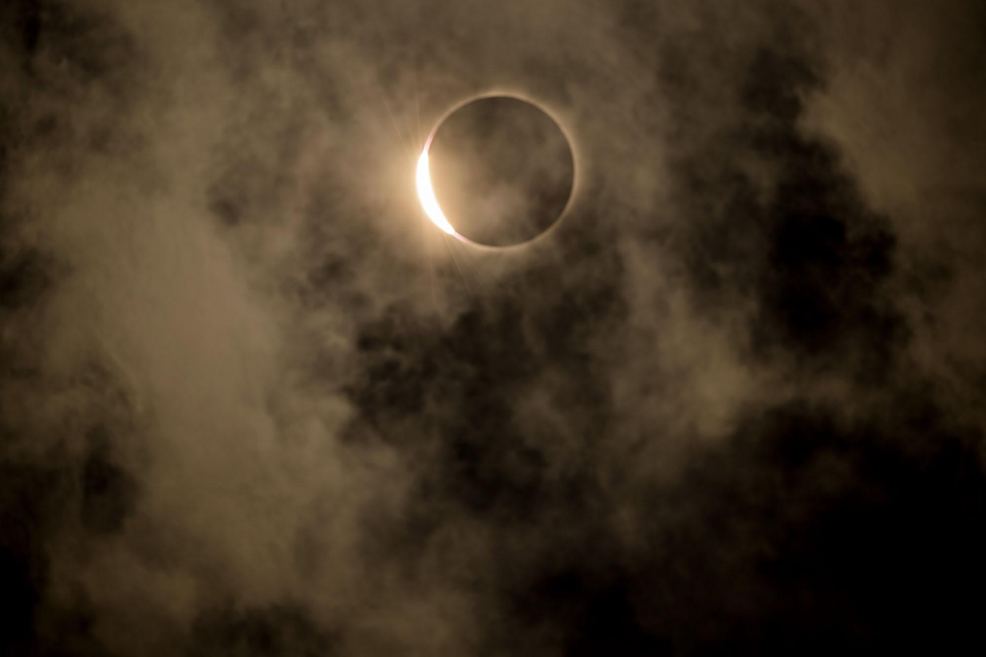 Eclipse. Lakeside, NE.
