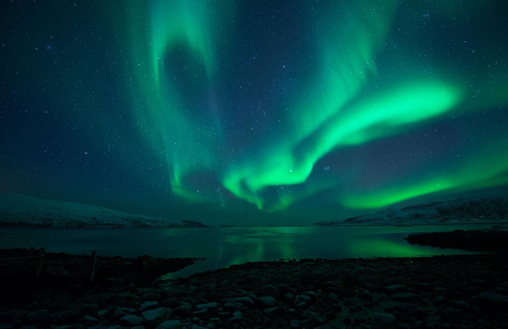Northern Lights. Tromsø, Norway.