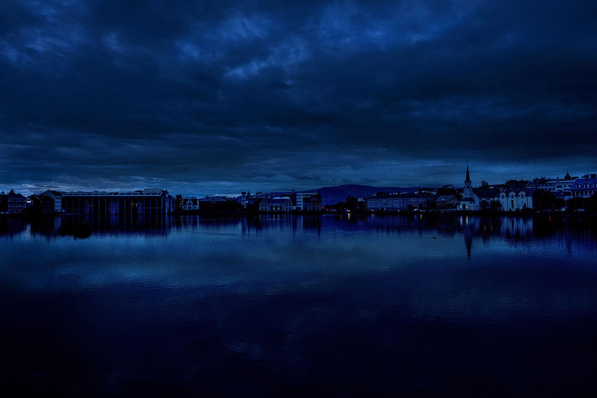 Blues. Reykjavik, Iceland.