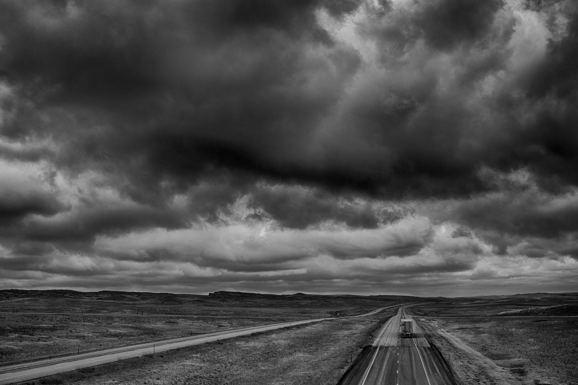 Highway. Montana.