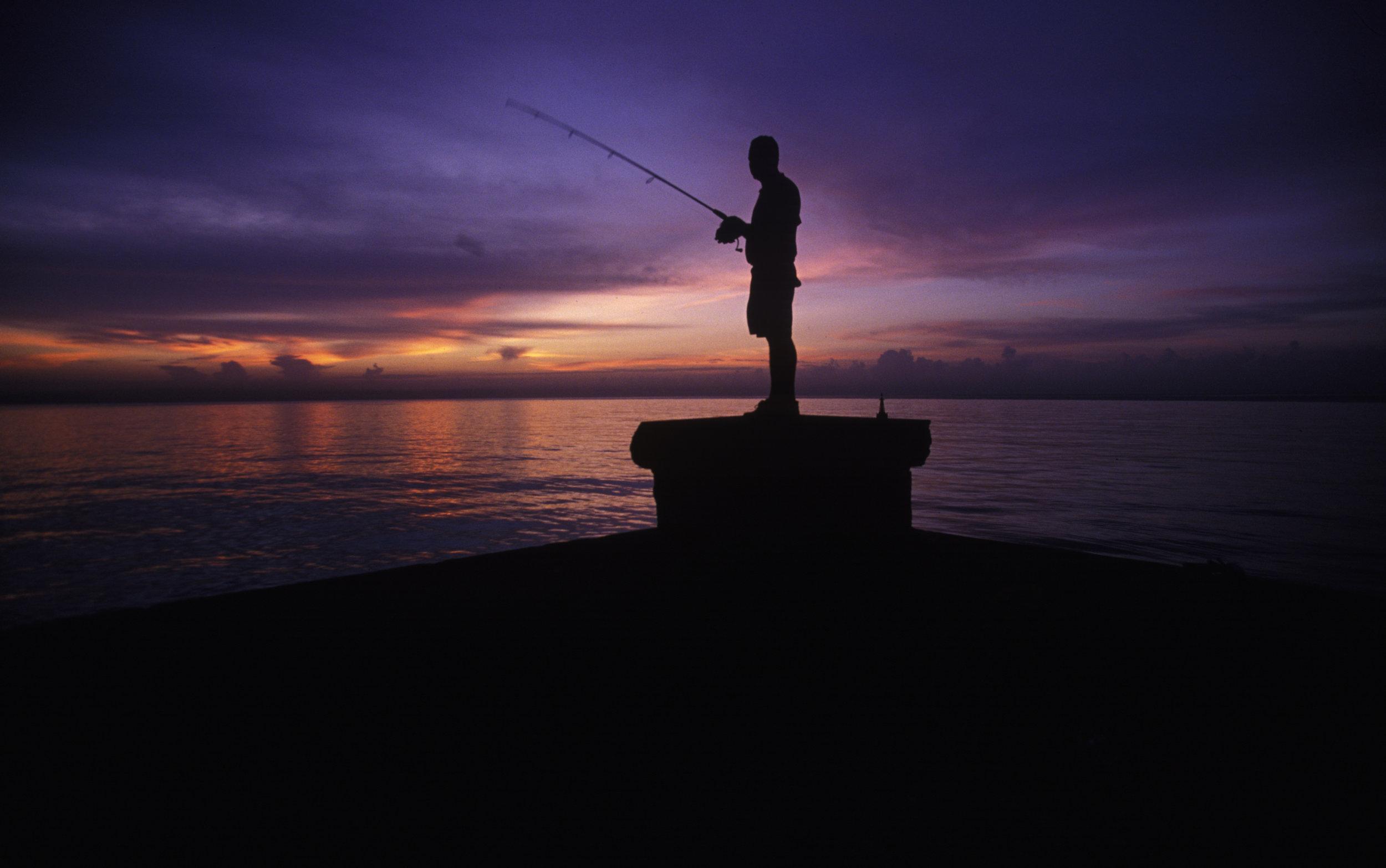 Fisherman. Havana, Cuba.