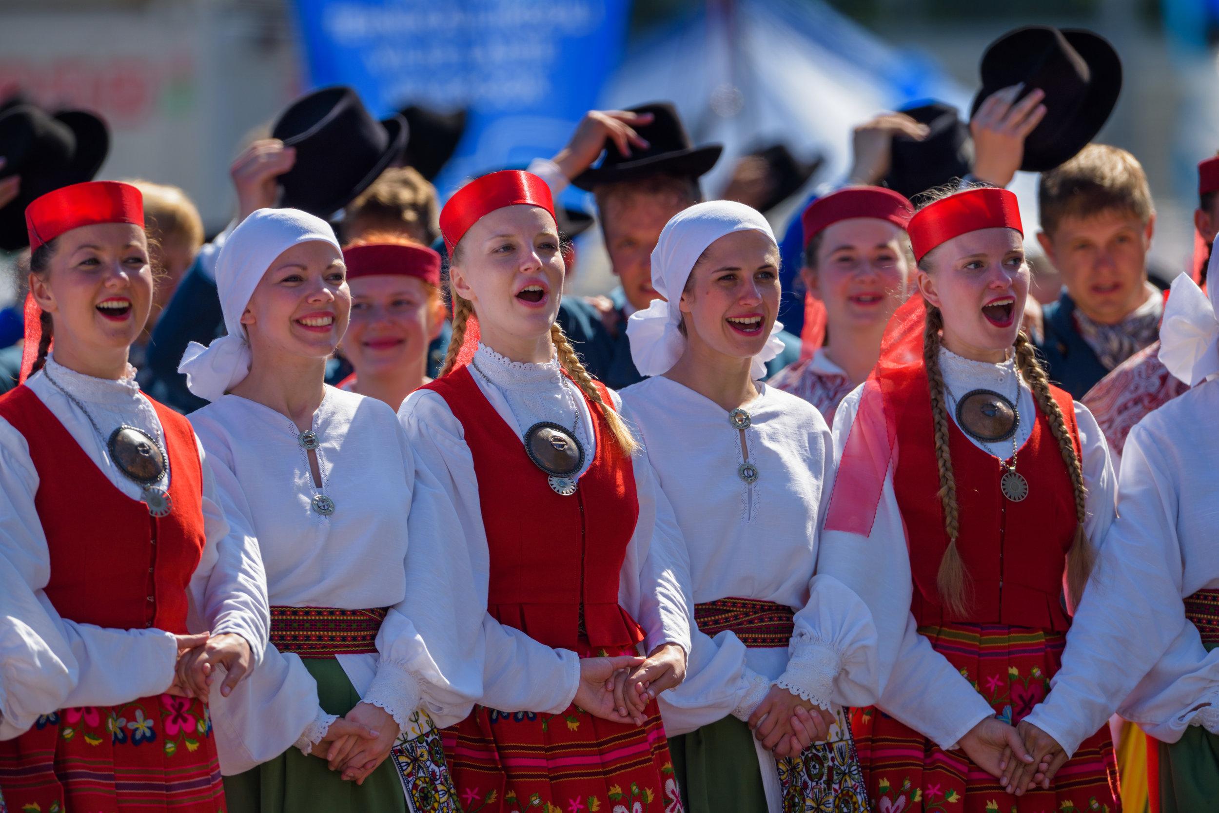 Tallinn, EstoniaParade through city and opening ceremony