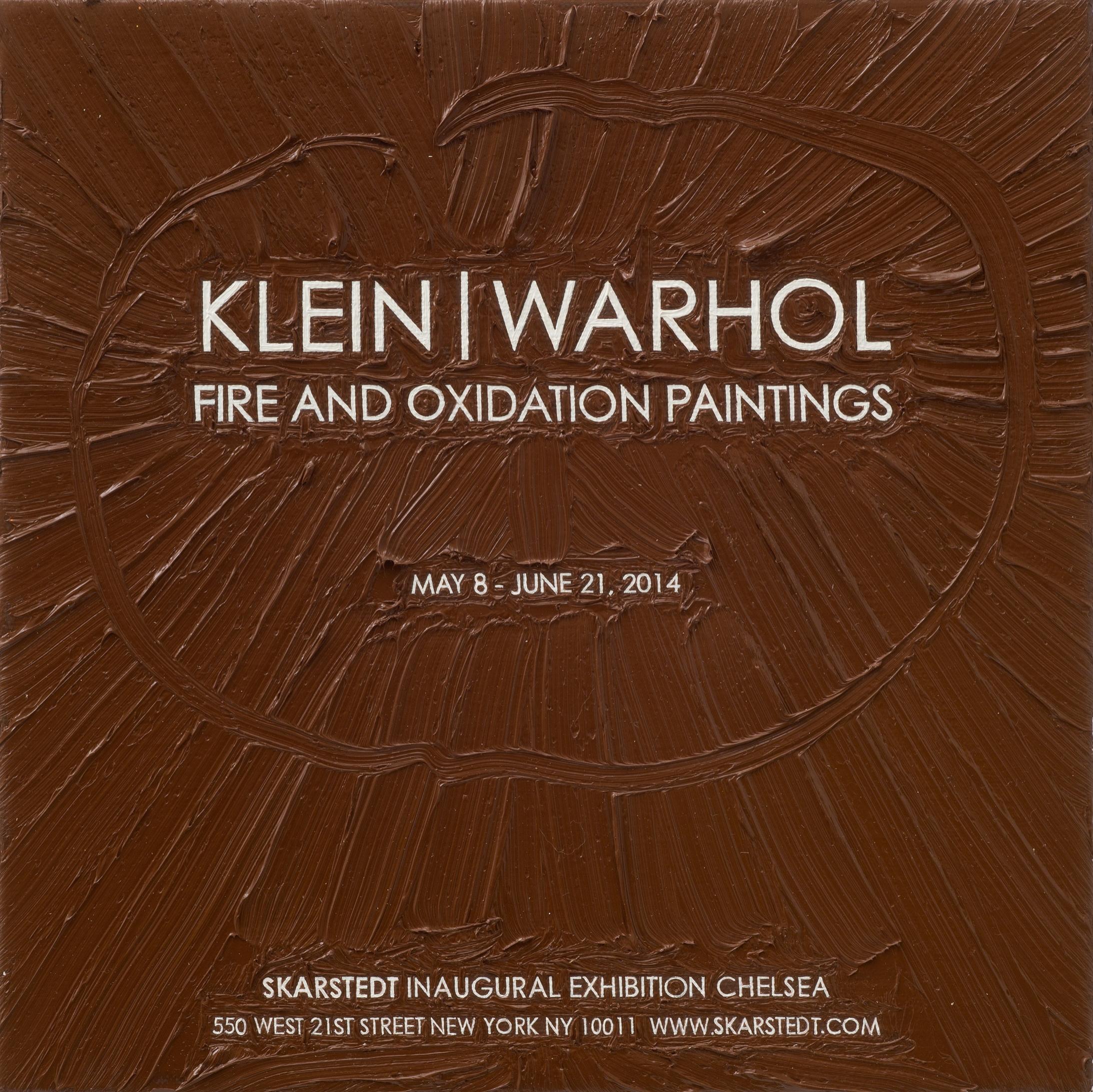 Klein Warhol at Skarstedt