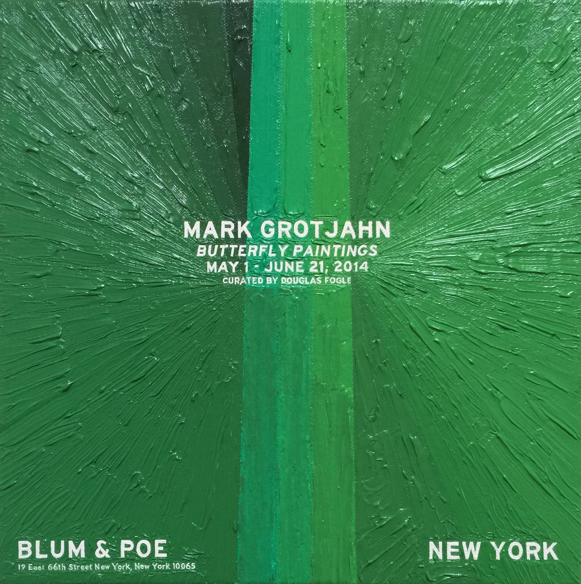 Mark Grotjahn at Blum & Poe