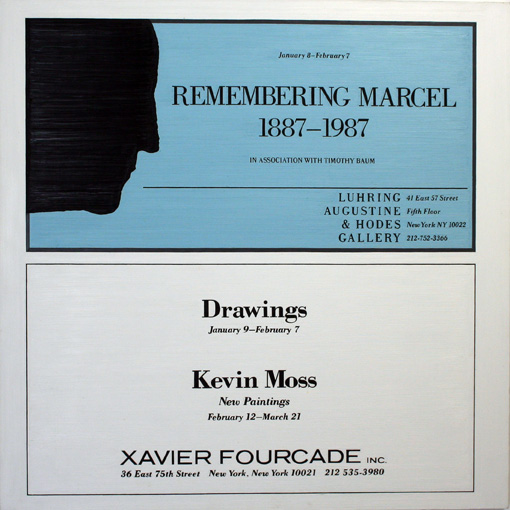 Marcel Duchamp at Luhring, Augustine & Hodes
