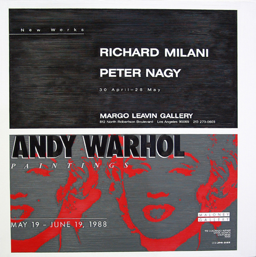 Richard Milani at Margo Leavin