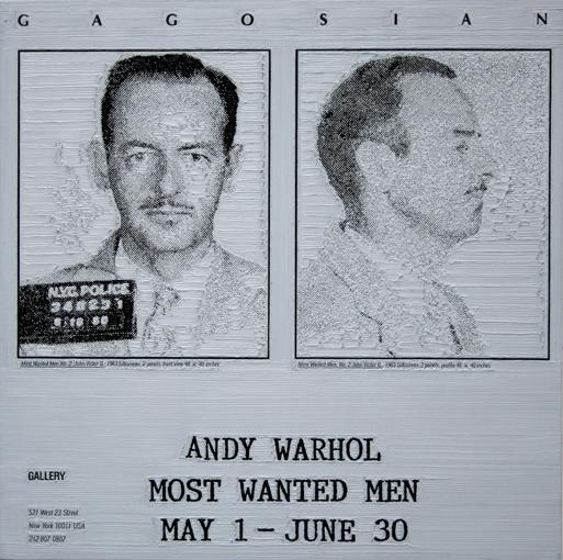 Andy Warhol at Gagosian