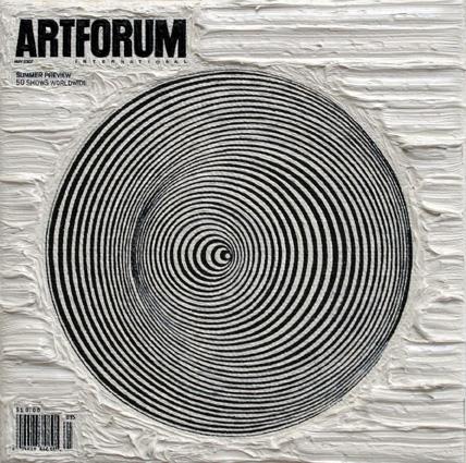Artforum May 2007, 5ins x 5ins, Oil on linen, 2007.