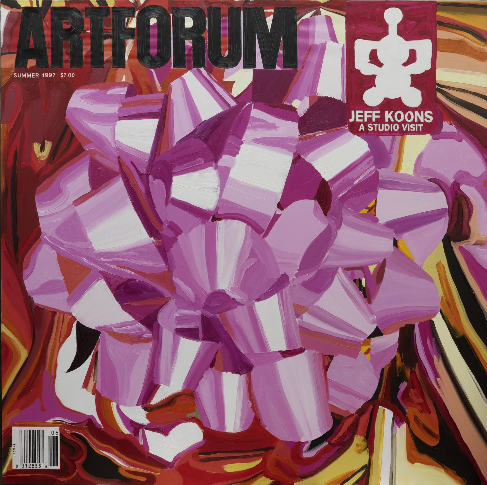 Artforum Summer 2007, 72ins x 72ins, Oil on linen, 1998.