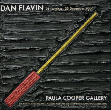 Dan Flavin at Paula Cooper