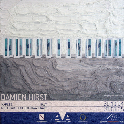 Damien Hirst at Museo Archeologico Nazionale, Naples (version 2)
