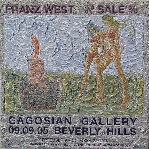 Franz West at Gagosian