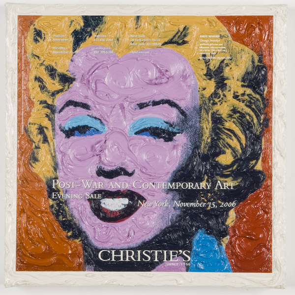 Andy Warhol at Christie's