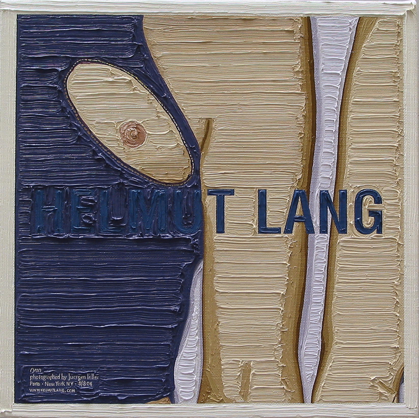 Helmut Lang, Artforum (exposed)