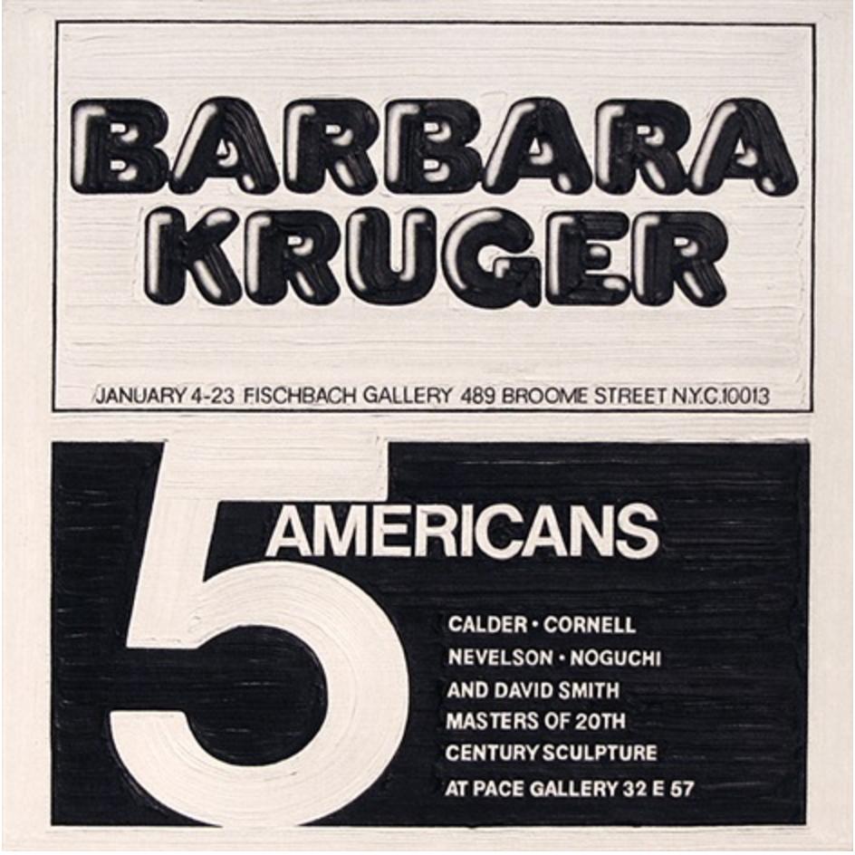 Barbara Kruger at Fischbach Gallery