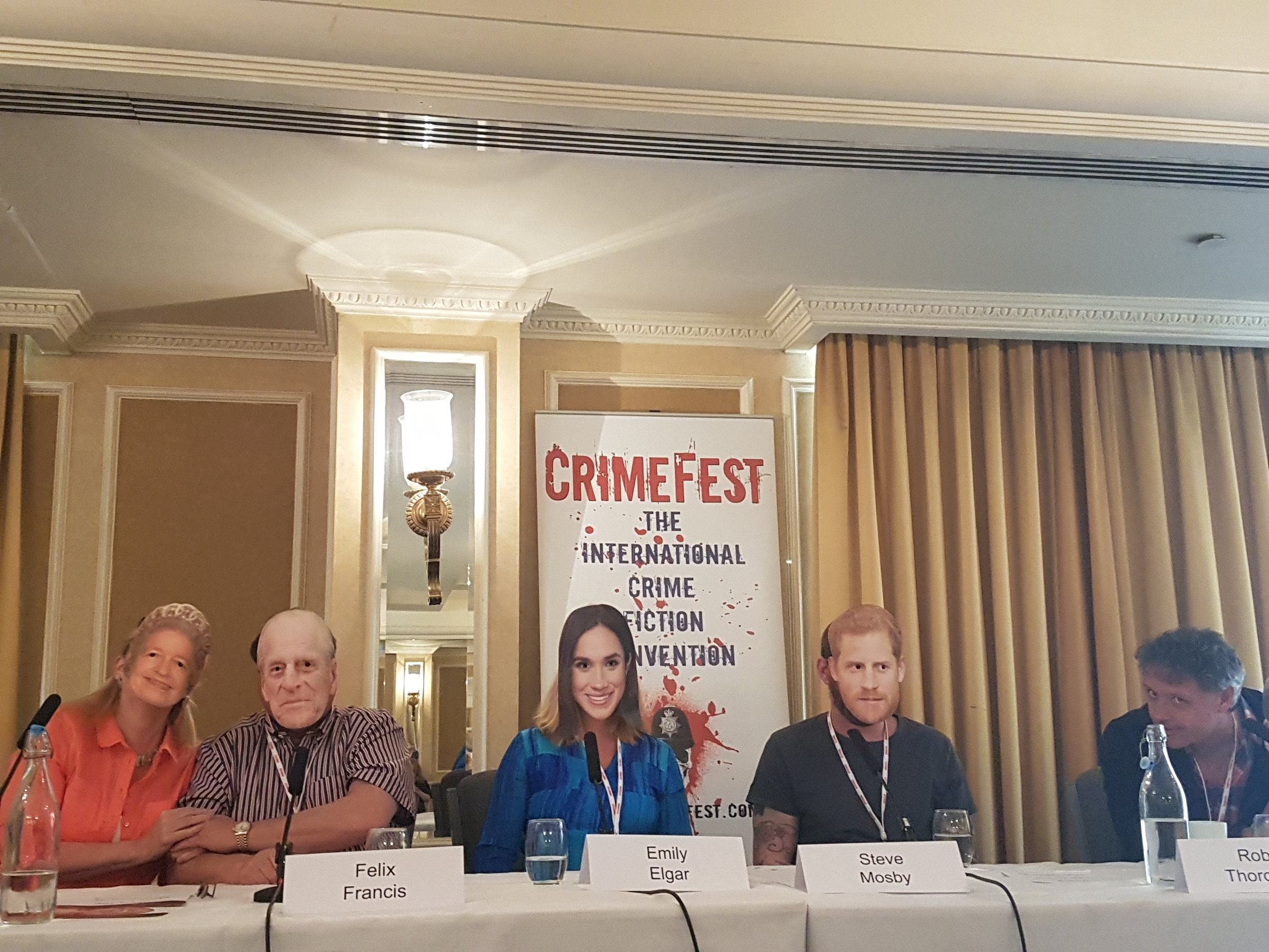 CrimeFest meets royal wedding