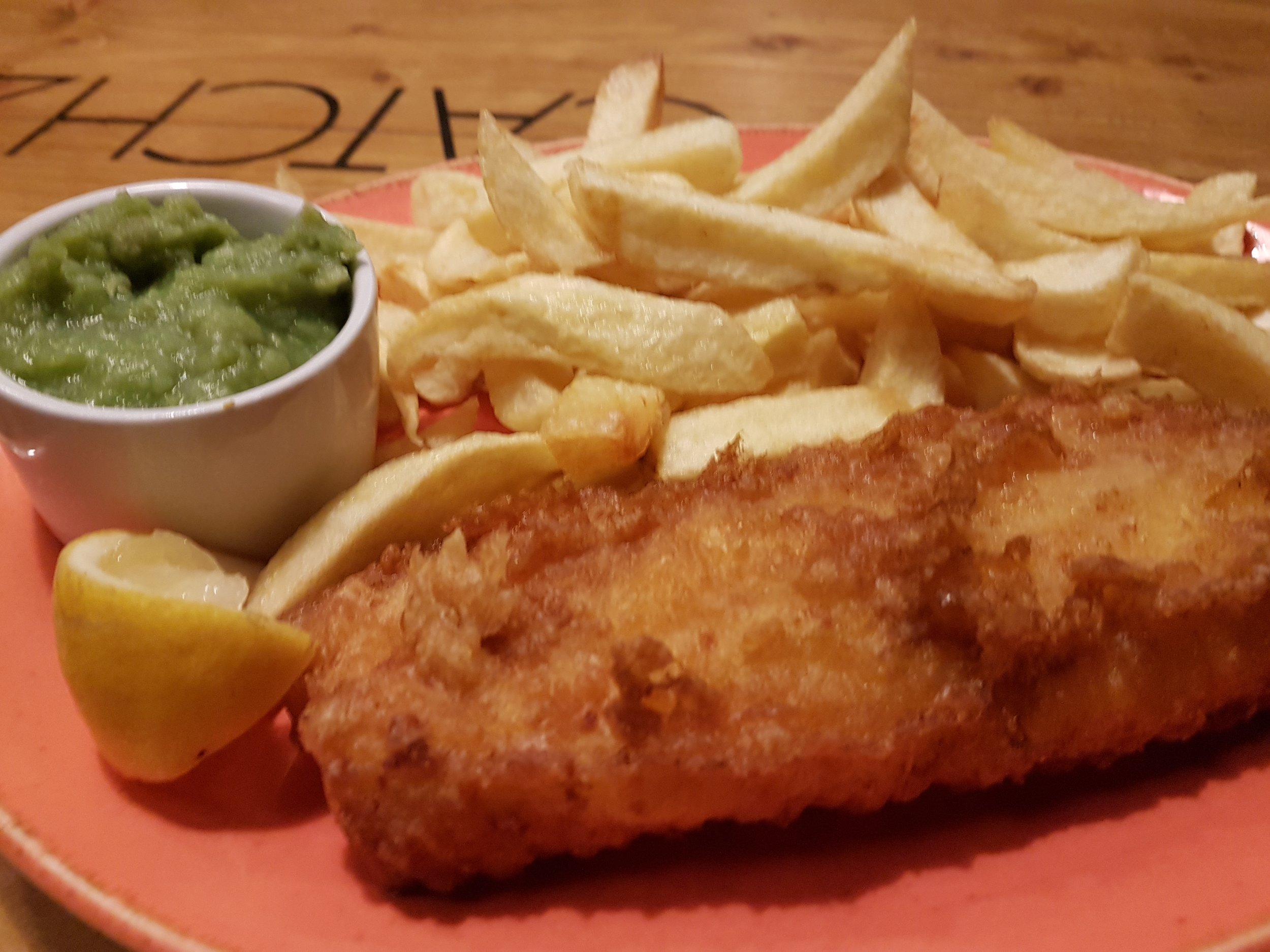 Fish & chips @ Catch 22