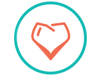 Honest Teeth Heart Logo