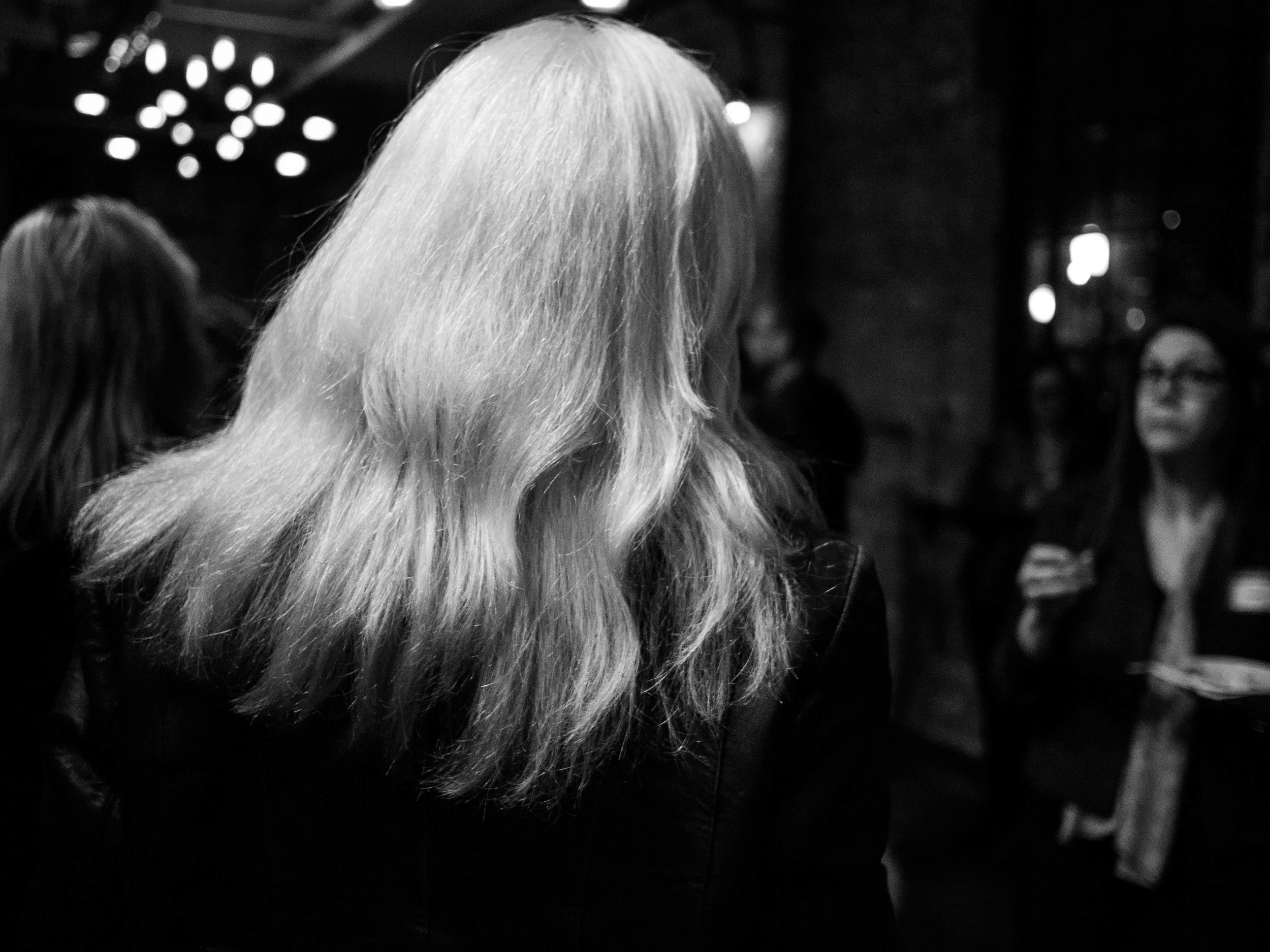 Woman With Pale Hair