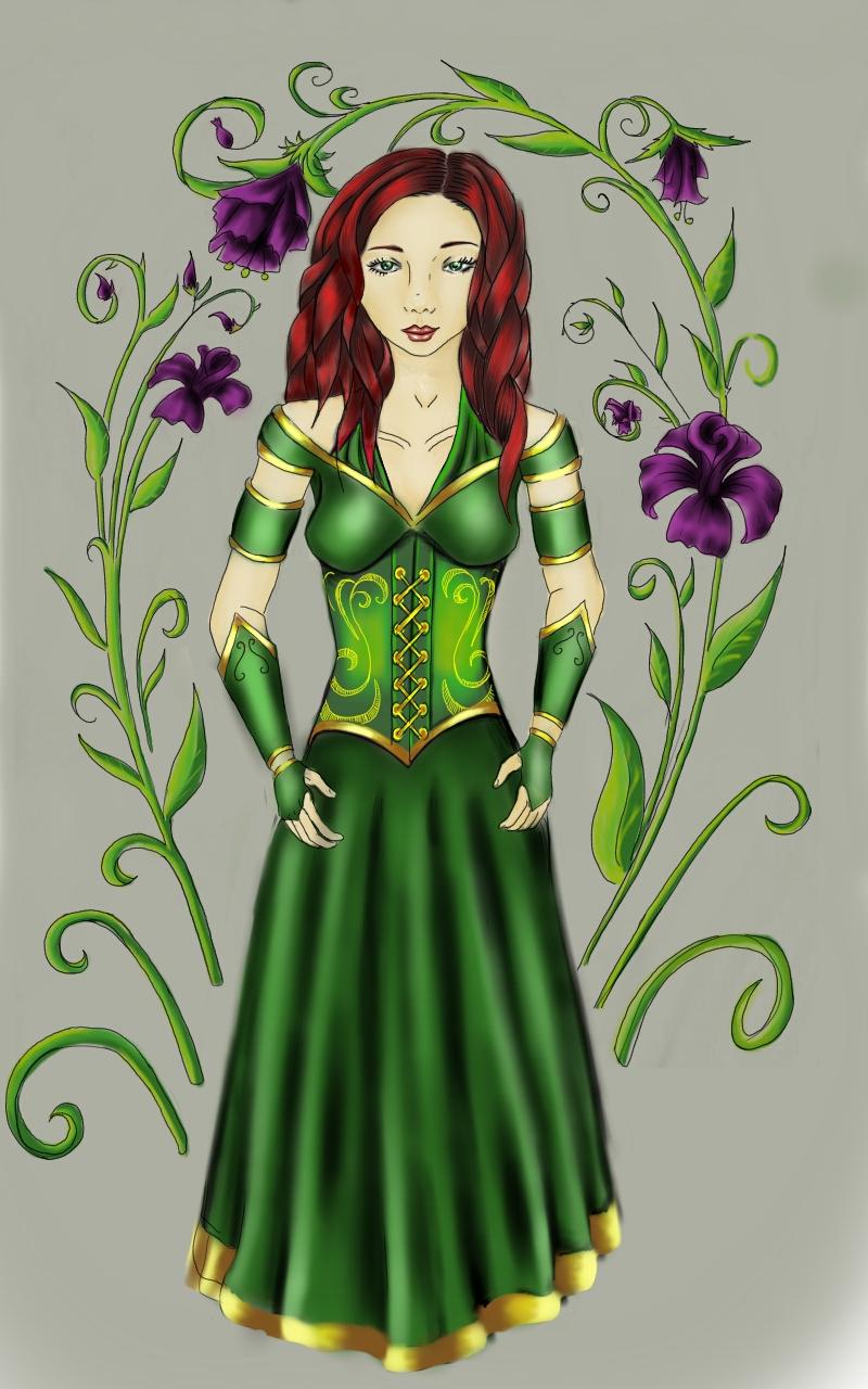 Farrina Snowchild Artwork by Reanna Wray-Woolsey
