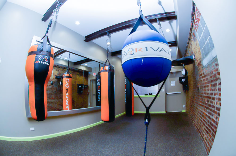 Harbor Fitness Bay Ridge Boxing Room