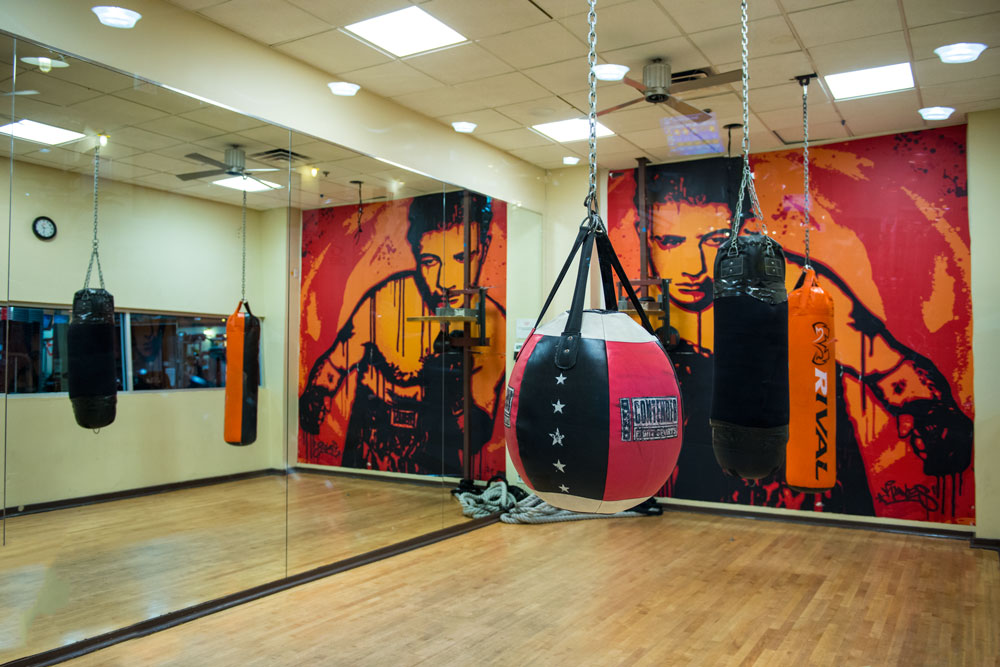 Harbor Fitness Mill Basin Boxing Room