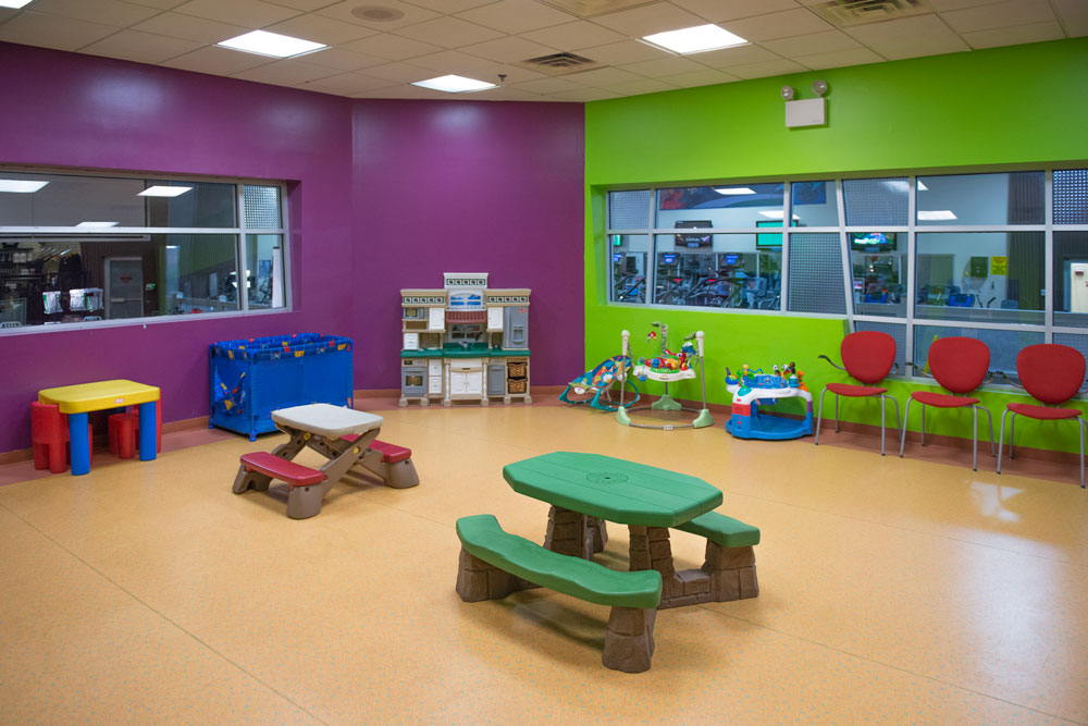 Harbor Fitness Mill Basin Group Babysitting Playroom