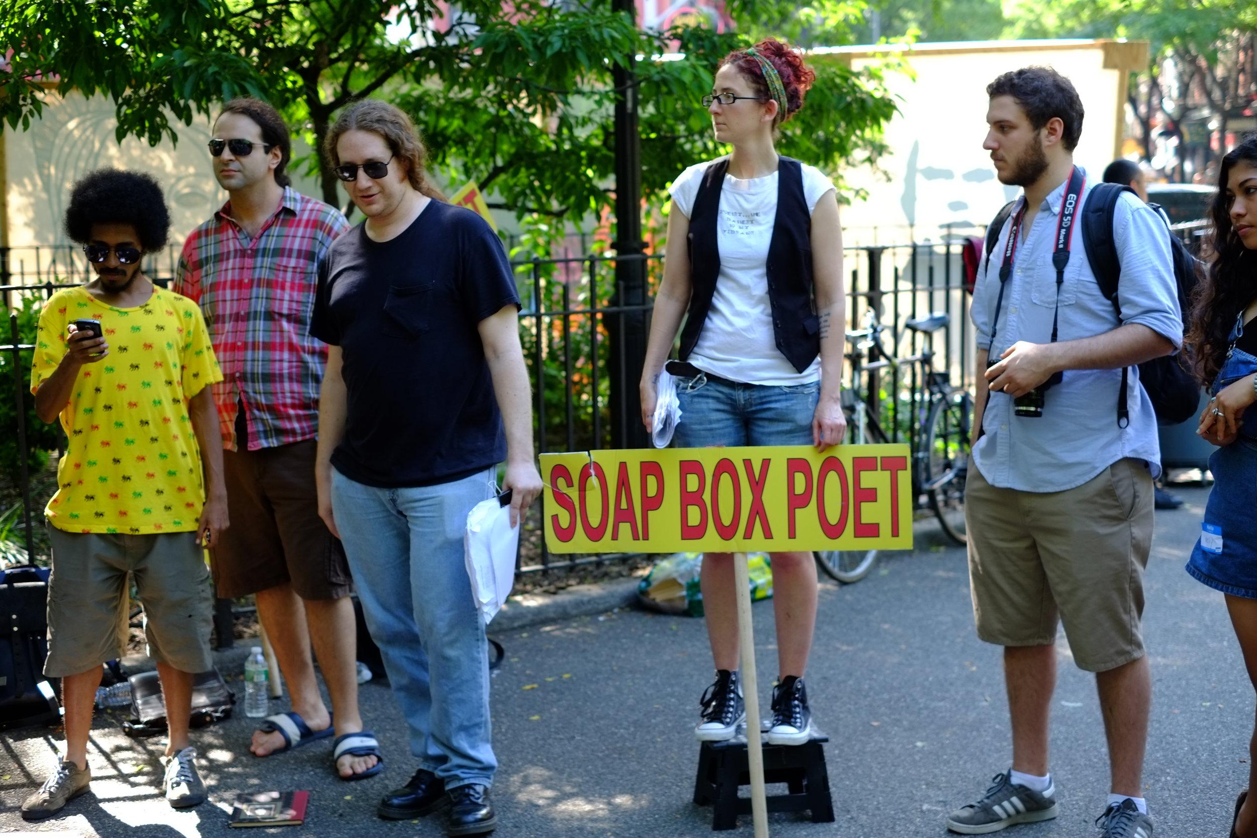Soap Box Poets, Howl Festival, Group Reading, New York, NY, 2013.3.JPG