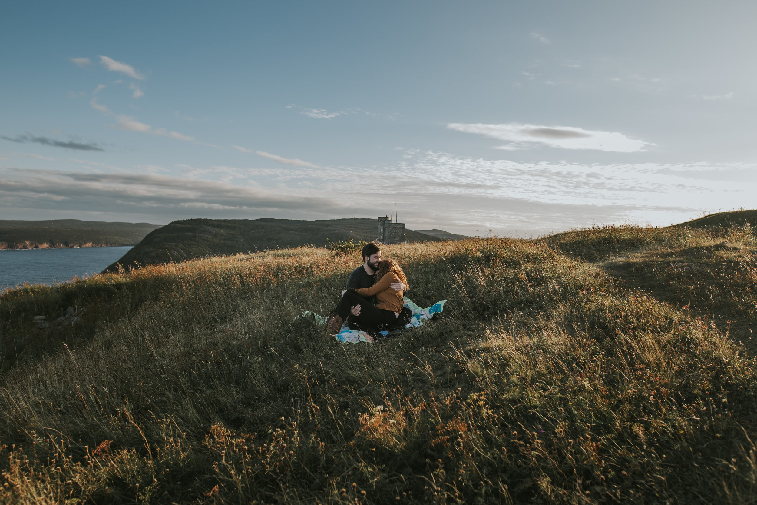 signal hill engagement - St. John's photographer