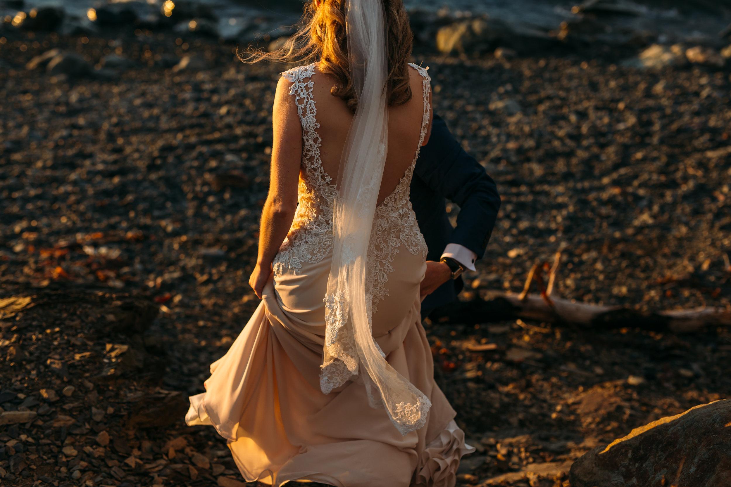 topsail beach wedding photos - adventurous elopement photographer