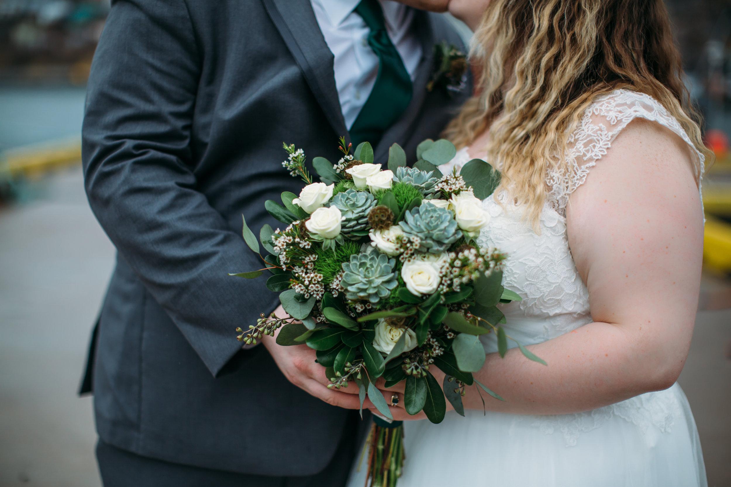 By Sharpe Design wedding flowers - Jennifer Georgette Photography