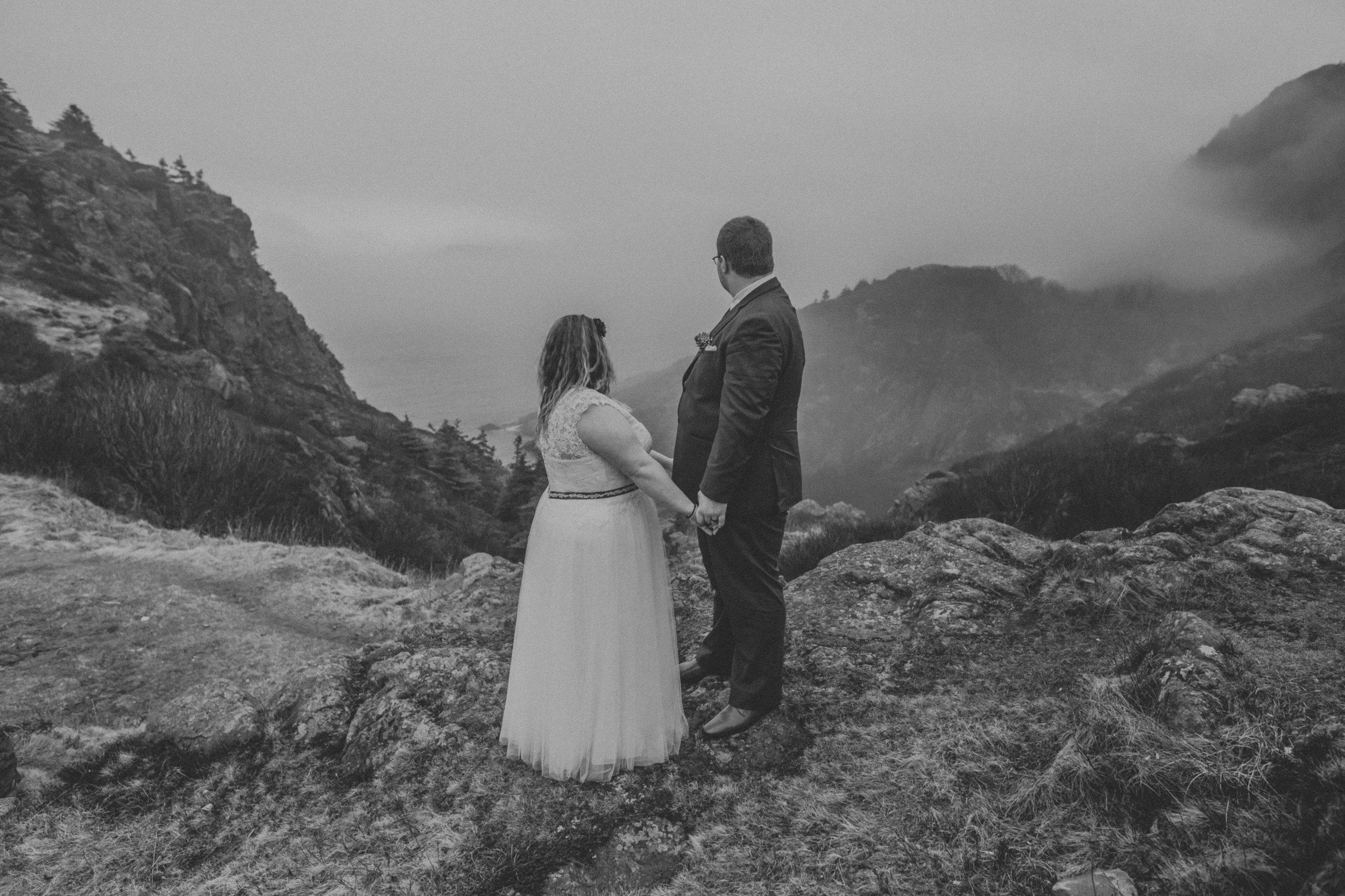 Cuckolds Cove elopement, Newfoundland photographer