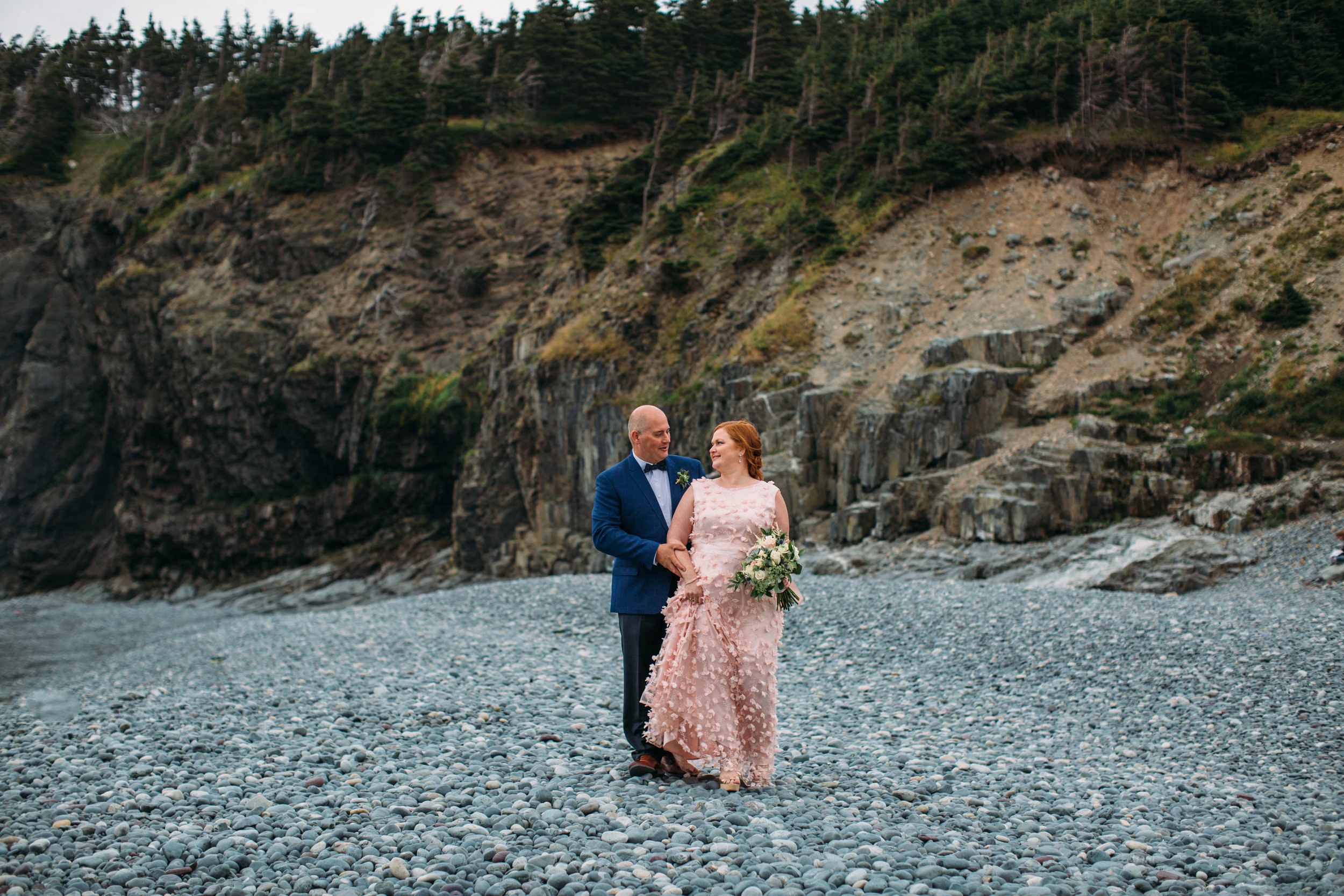 Topsail beach intimate outdoor wedding